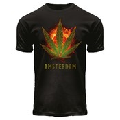 FOX Originals T-Shirt Black - Burning Kush A'dam