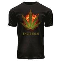 FOX Originals T-Shirt Schwarz - Burning Kush A'dam
