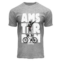 FOX Originals T-shirt -Wall Amsterdam sports-grey