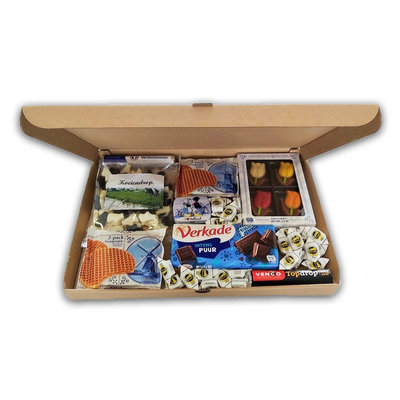 www.typisch-hollands-geschenkpakket.nl Letterbox gift - Dutch sweets