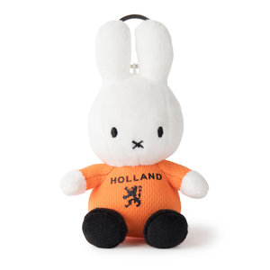 Nijntje (c) Miffy - Holland Football Boy - Keychain 10 cm