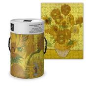 Typisch Hollands Puzzle in einer Röhre - Vincent van Gogh - Sonnenblumen