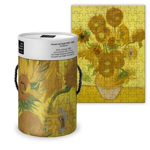 Typisch Hollands Puzzle in a tube - Vincent van Gogh - Sunflowers