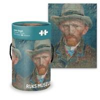 Typisch Hollands Puzzel in koker - Vincent van Gogh - Zelfportret