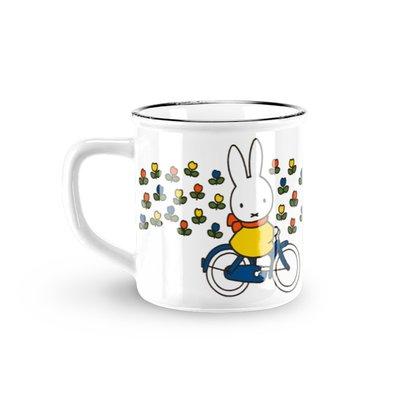 Nijntje (c) Becher Miffy - Retro - Weiß