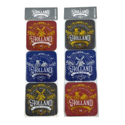 Typisch Hollands Coasters Holland classic vintage