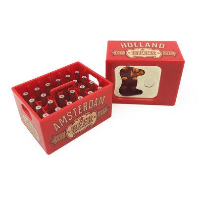 Typisch Hollands Magnetic opener - Beer crate - Dutch Classics - Holland - Red