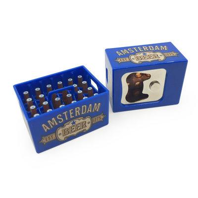 Typisch Hollands Magnetic opener - Beer crate - Dutch Classics - Amsterdam-Blue