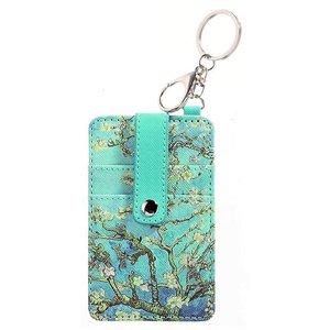 Typisch Hollands Pasjes houder-sleutelhanger-Vincent van Gogh - Bloesem