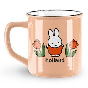 Nijntje (c) Holland Becher Miffy - Retro - Pastell - Miffy (Tulpen)