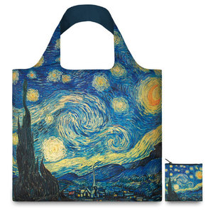 Typisch Hollands Foldable Bag - Folding Bag, Van Gogh, Starry Night