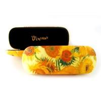 Typisch Hollands Brillenetui Vincent van Gogh - Sonnenblumen