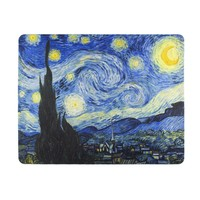 Typisch Hollands Mousepad - Sternennacht - van Gogh