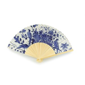 Typisch Hollands Hand fan - Delft blue