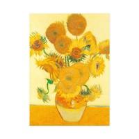 Typisch Hollands Theedoek - Zonnebloemen - Van Gogh