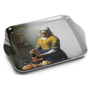 Typisch Hollands Mini tray of Vermeer's Milkmaid