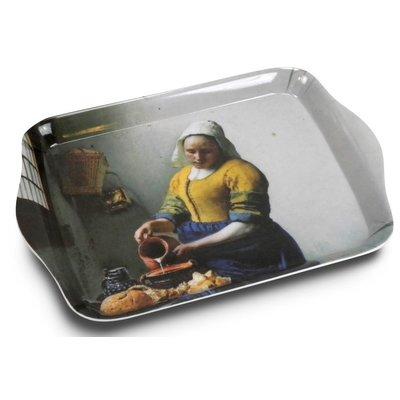 Typisch Hollands Mini dienblad van het Melkmeisje van Vermeer