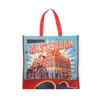 Typisch Hollands Luxe Shopper Vintage Amsterdam -Hertitage