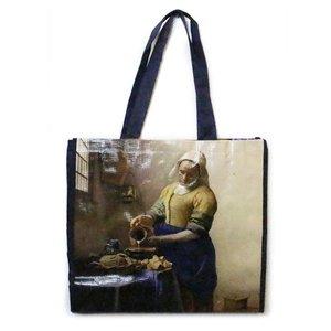 Typisch Hollands Luxe Shopper, het Melkmeisje  - (Vermeer)