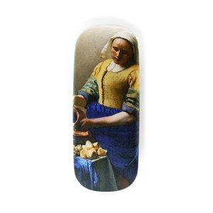 Typisch Hollands Glasses case - the milkmaid