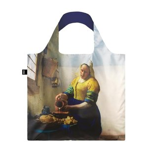 Typisch Hollands Foldable bag - Folding bag, Vermeer - The Milkmaid