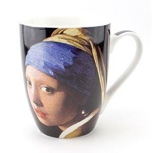 Typisch Hollands Mok  -  het Meisje met de parel - Vermeer