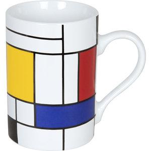 Typisch Hollands High mug - Piet Mondrian