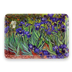 Typisch Hollands Small Tray - Irises - Vincent van Gogh