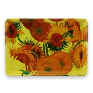 Typisch Hollands Small Tray - Sunflowers - Vincent van Gogh