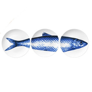 Plates with Fish (set of 3 pieces)