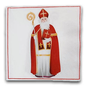 Typisch Hollands Napkins Sinterklaas - Nostalgic