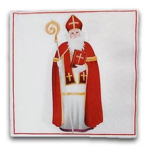 Typisch Hollands Servietten Sinterklaas - Nostalgisch