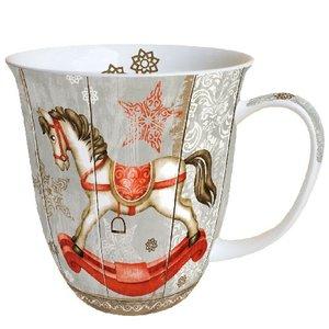 Typisch Hollands Christmas mug Rocking horse - Christmas