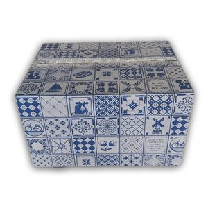 Typisch Hollands Cadeau doos - Delfts blauw - Typisch Hollands - Kerstpakketdoos