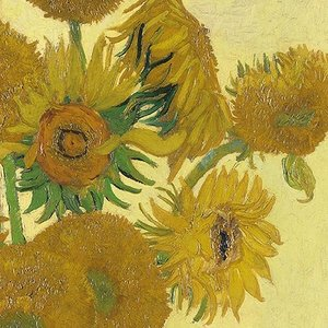 Typisch Hollands Servetten - van Gogh - Zonnebloemen