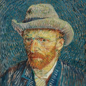 Typisch Hollands Napkins - van Gogh - Self-portrait