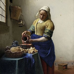 Typisch Hollands Napkins the Milkmaid - Vermeer