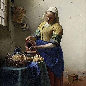 Typisch Hollands Servetten het Melkmeisje - Vermeer