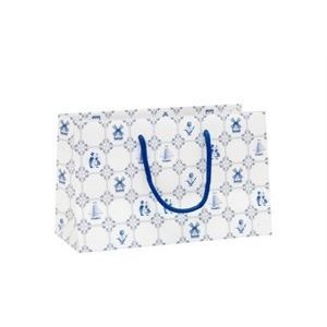 Typisch Hollands Gift bag Dutch decoration - Delft blue