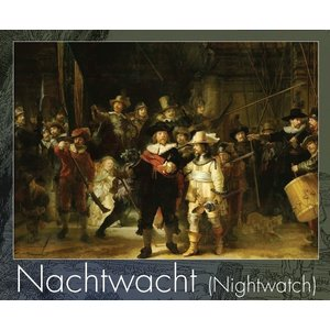 Typisch Hollands Puzzle in tube - the Night Watch -500 pieces