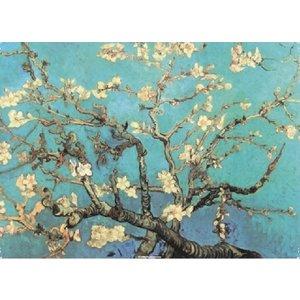 Typisch Hollands Puzzel in koker - Vincent van Gogh - Bloesem - 1000 stukjes