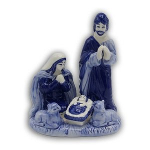 Heinen Delftware Holy Family Groot