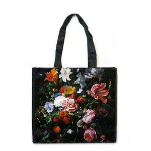 Typisch Hollands Luxe Shopper, Bloemen klassiek - de Heem
