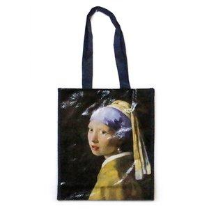 Typisch Hollands Luxe Shopper, het Meisje met de parel  - (Vermeer)