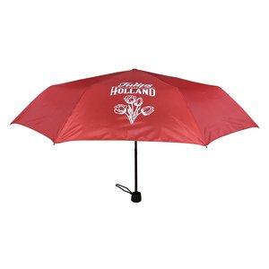 Typisch Hollands Paraplu rood - in opberg-etui Tulpendecoratie Holland