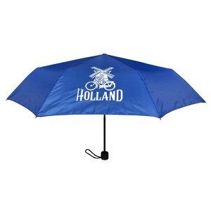 Typisch Hollands Paraplu Blauw - in opberg-etui Molen-Fiets Decoratie