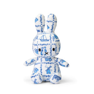 Nijntje (c) Miffy plush - 23 cm Souvenir Delft Blue