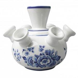 Typisch Hollands Tulip vase - Floral pattern - in gift box