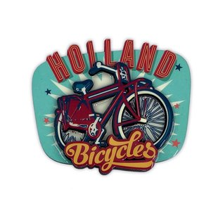 Typisch Hollands Magnet - Vintage - Holland Bicycles