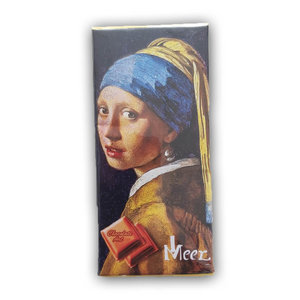 Typisch Hollands Chocolate tablet - the Girl with a Pearl Earring